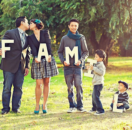 Идеи для фото семейного