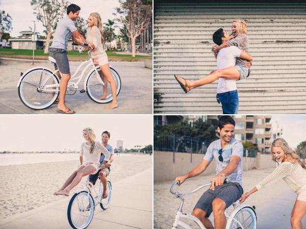 Идеи для фотосессии love story: спортивно