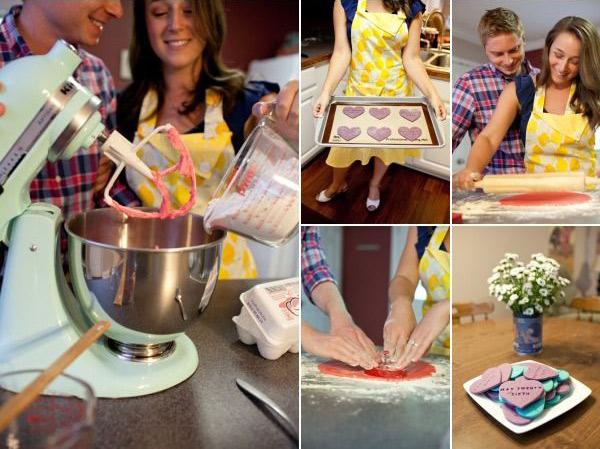 Идеи для фотосессии love story: на кухне