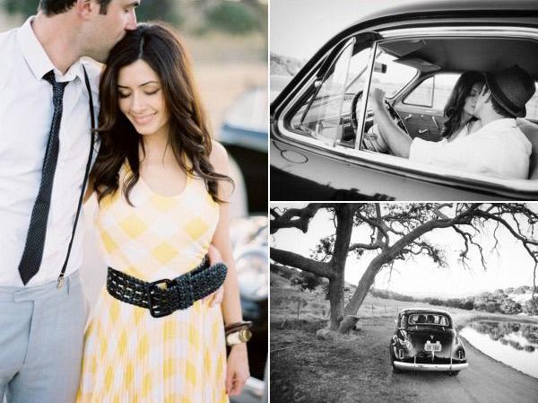 Идеи для фотосессии love story: машина