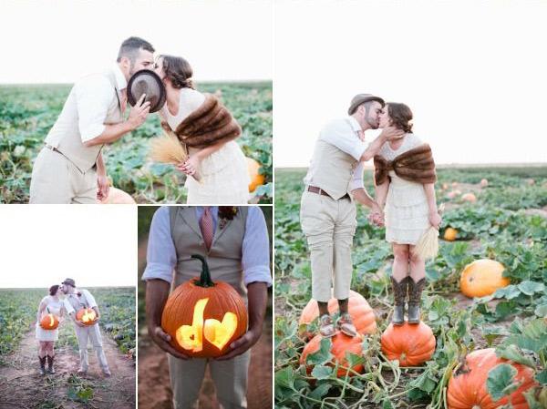 Идеи для фотосессии love story: в поле