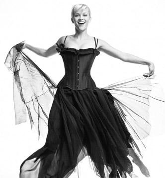 Идеи для фотосессии в студии: танцовщица