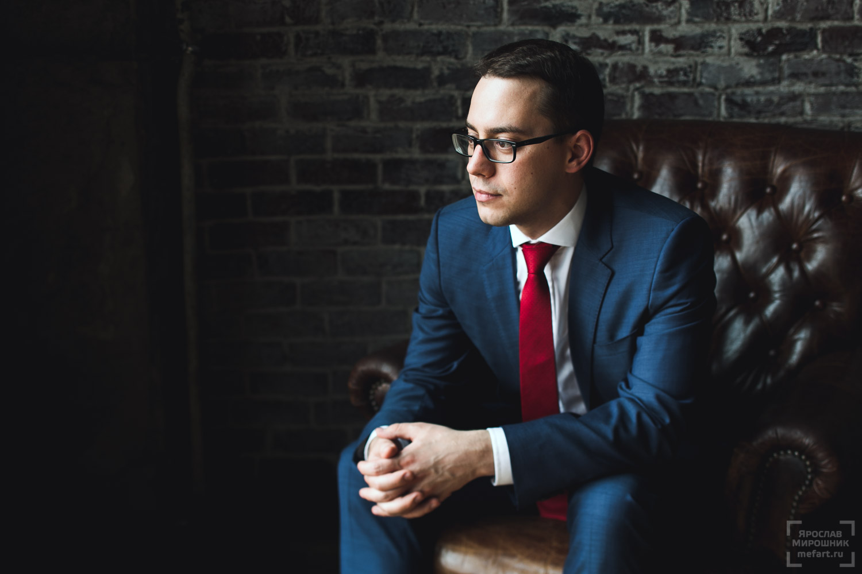 деловой портрет молодого предпринимателя