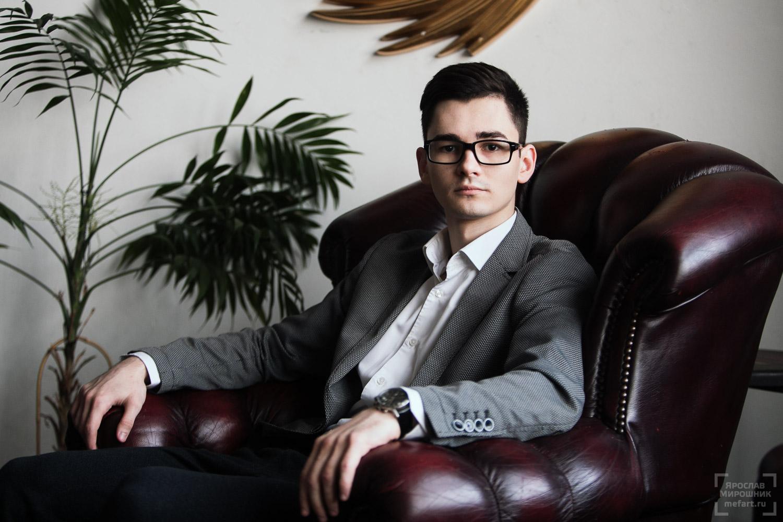 бизнес портрет молодого предпринимателя