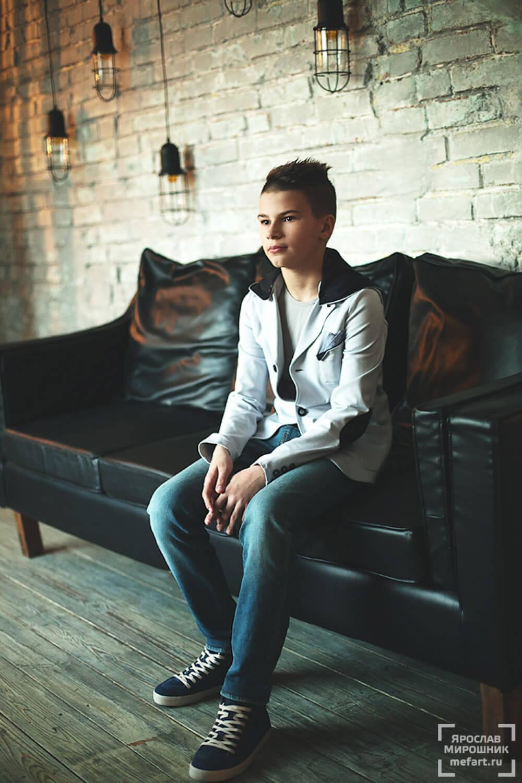 фотосессия подростка в студии