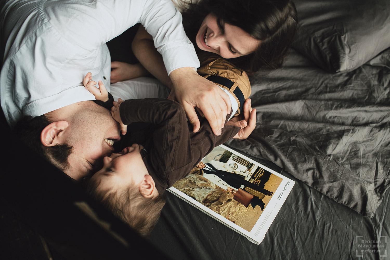 фото семейной фотосессии