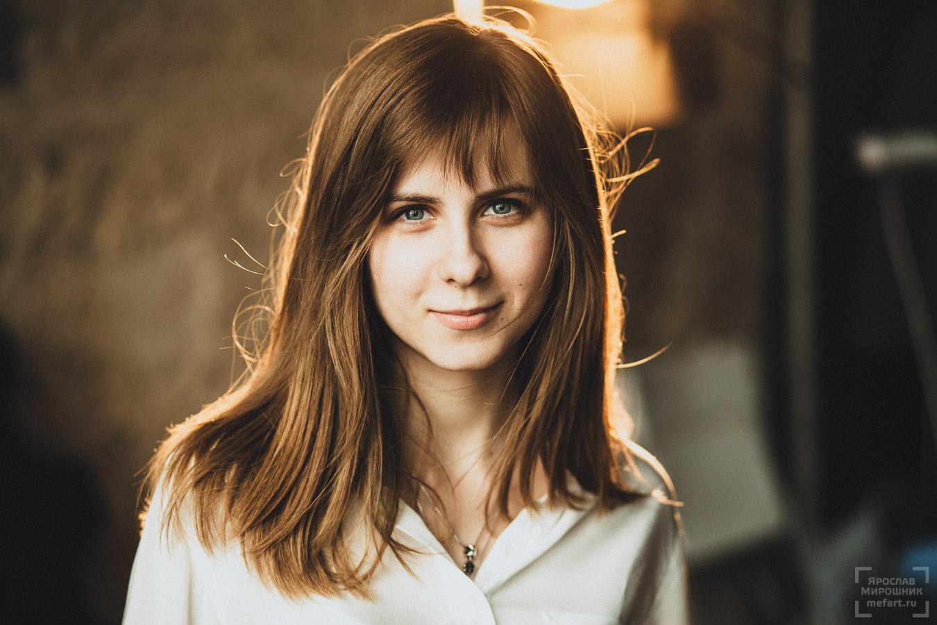 фотосессия в студии москва портрет девушки