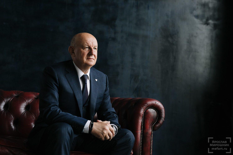 Бизнес портрет генерального директора в возрасте